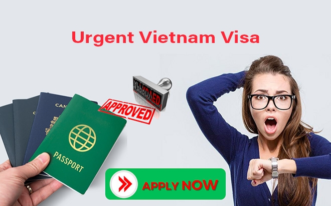 Urgent Vietnam visa for those who only have 1 day to prepare to come to Vietnam